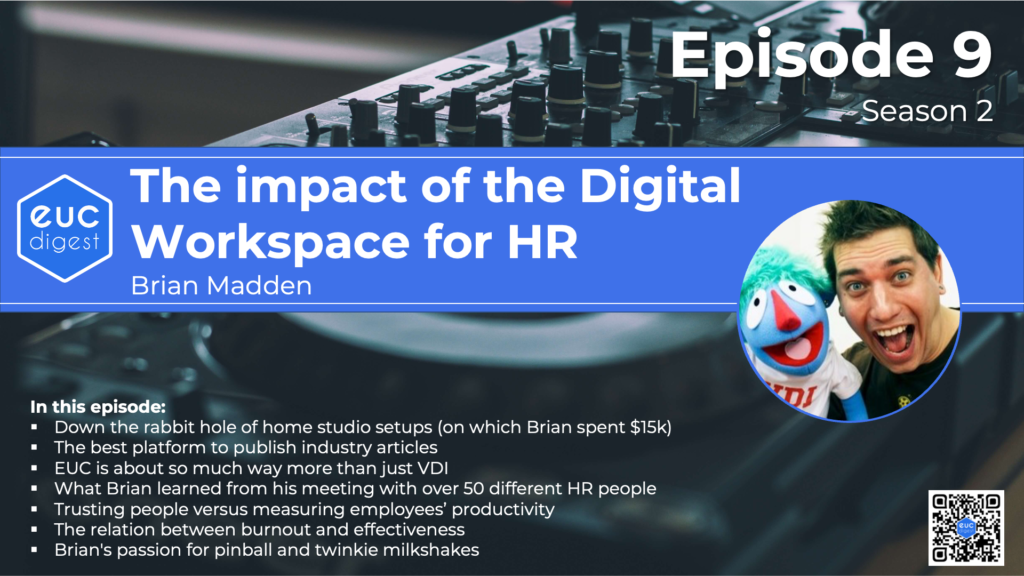 S02E09 The Impact of The Digital Workspace For HR with Brian Madden